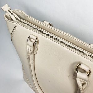 Forever 21 Oversized Cream Tote